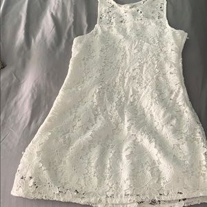 White soft lace looking sundress